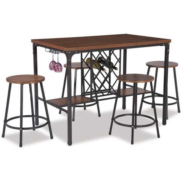 NAPA 5 PIECE COUNTER HEIGHT DINETTE SET